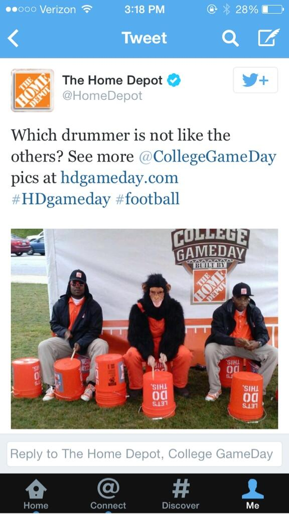 Home depot picture of drummers
