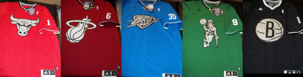 nba holiday jerseys