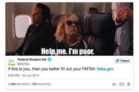 fafsa poor tweet